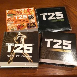 Focus T25 workout set from Beachbody